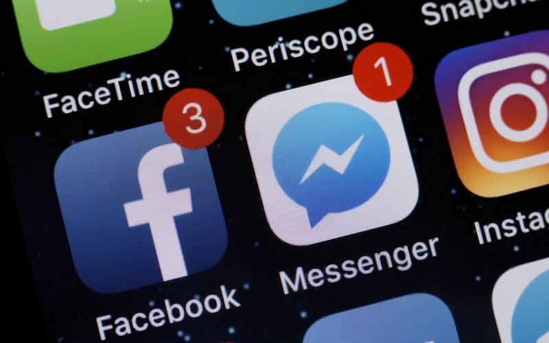 У Facebook Messenger стався масштабний збій