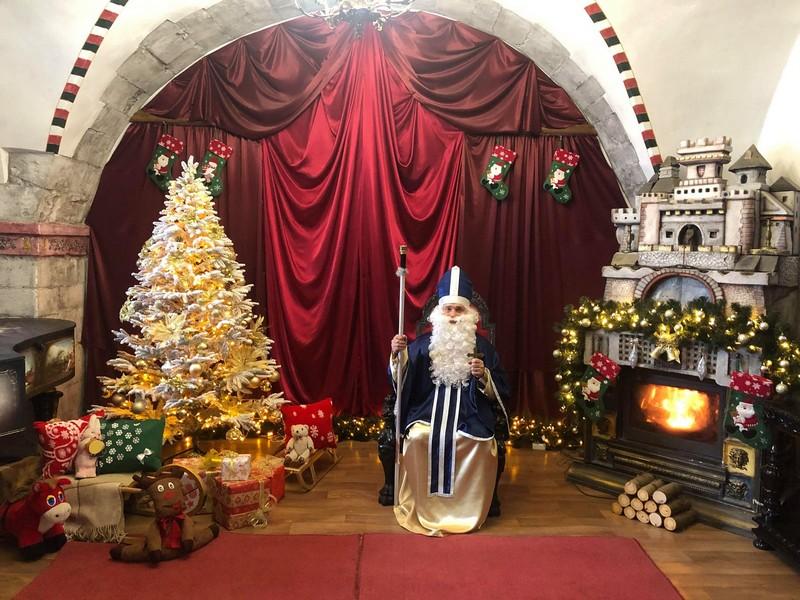 У Мукачеві в замку запрацювала резиденція святого Миколая