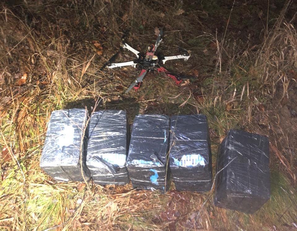 На Закарпатті виявили літальний апарат, яким збиралися переправляти контрабандні сигарети
