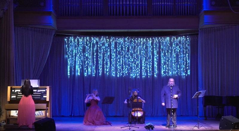 У Закарпатській філармонії відбувся новорічно-різдвяний концерт