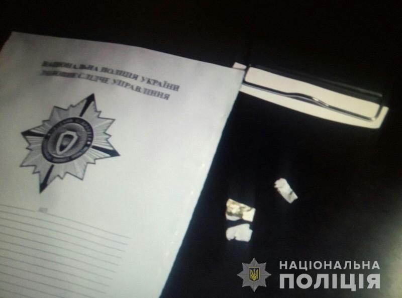 Поліцейські розповіли про обшук, який провели сьогодні вночі