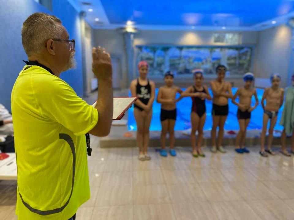 У Мукачеві провели змагання з плавання