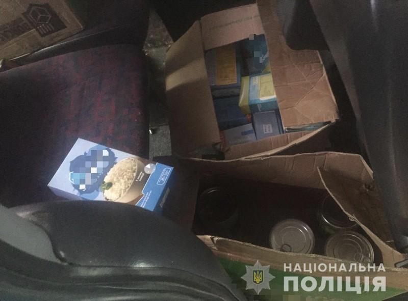 На Мукачівщині, у селі Барбово, вкрали товар із автомобіля жінки-підприємця
