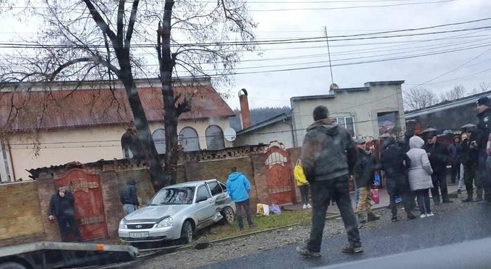 У курортному селищі Солотвино на Закарпатті трапилась аварія