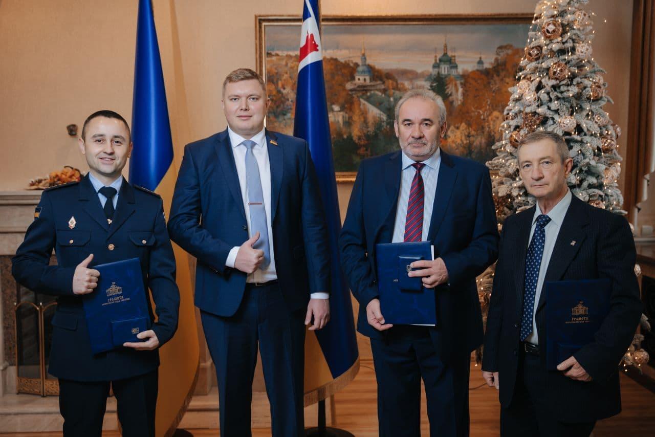 Троє закарпатців отримали грамоти та відзнаки Верховної Ради України