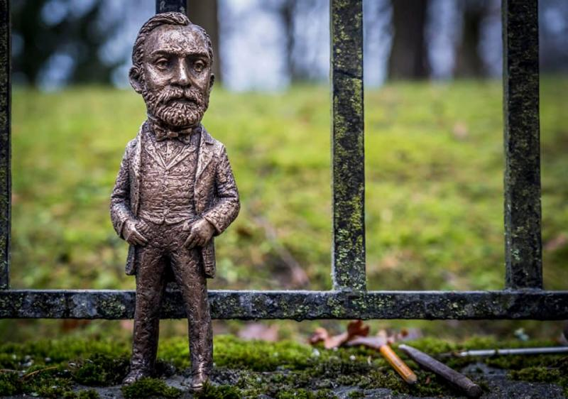 Міні-скульптурка Альфреда Нобеля з'явилась у Стокгольмі