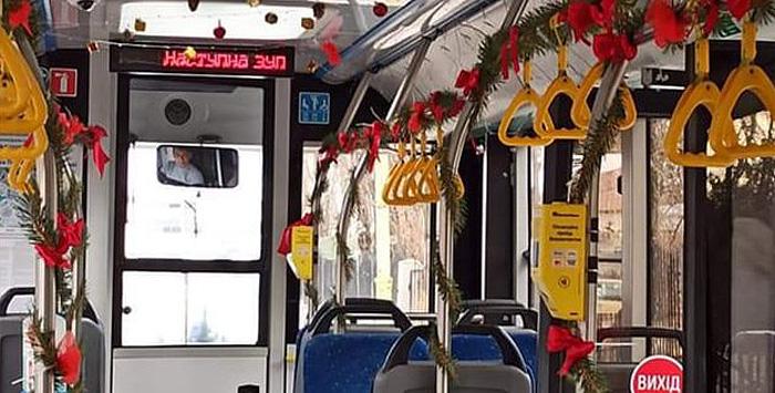 В ужгородських автобусах лунатимуть колядки і щедрівки