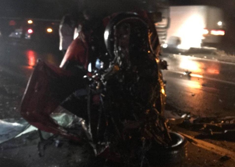ЗМІ оприлюднили фото зі смертельної аварії неподалік Ужгорода