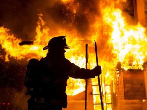 На Тячівщині вирувала велика пожежа