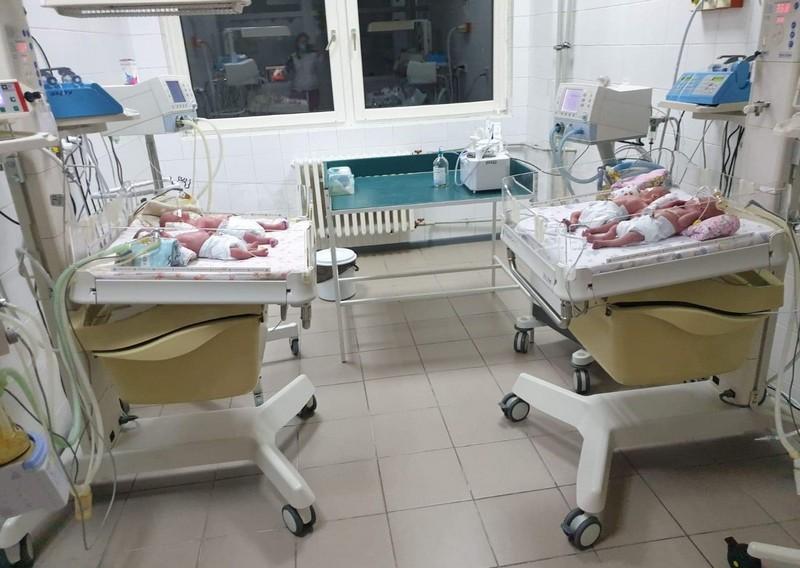 В Ужгороді у пологовому народилась четвірня