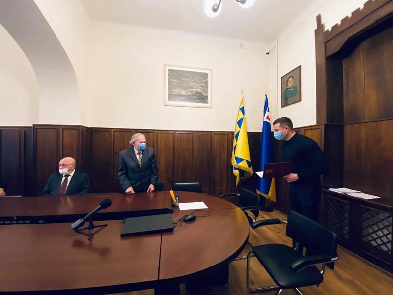 В Мукачеві сьогодні відзначили Почесного громадянина міста