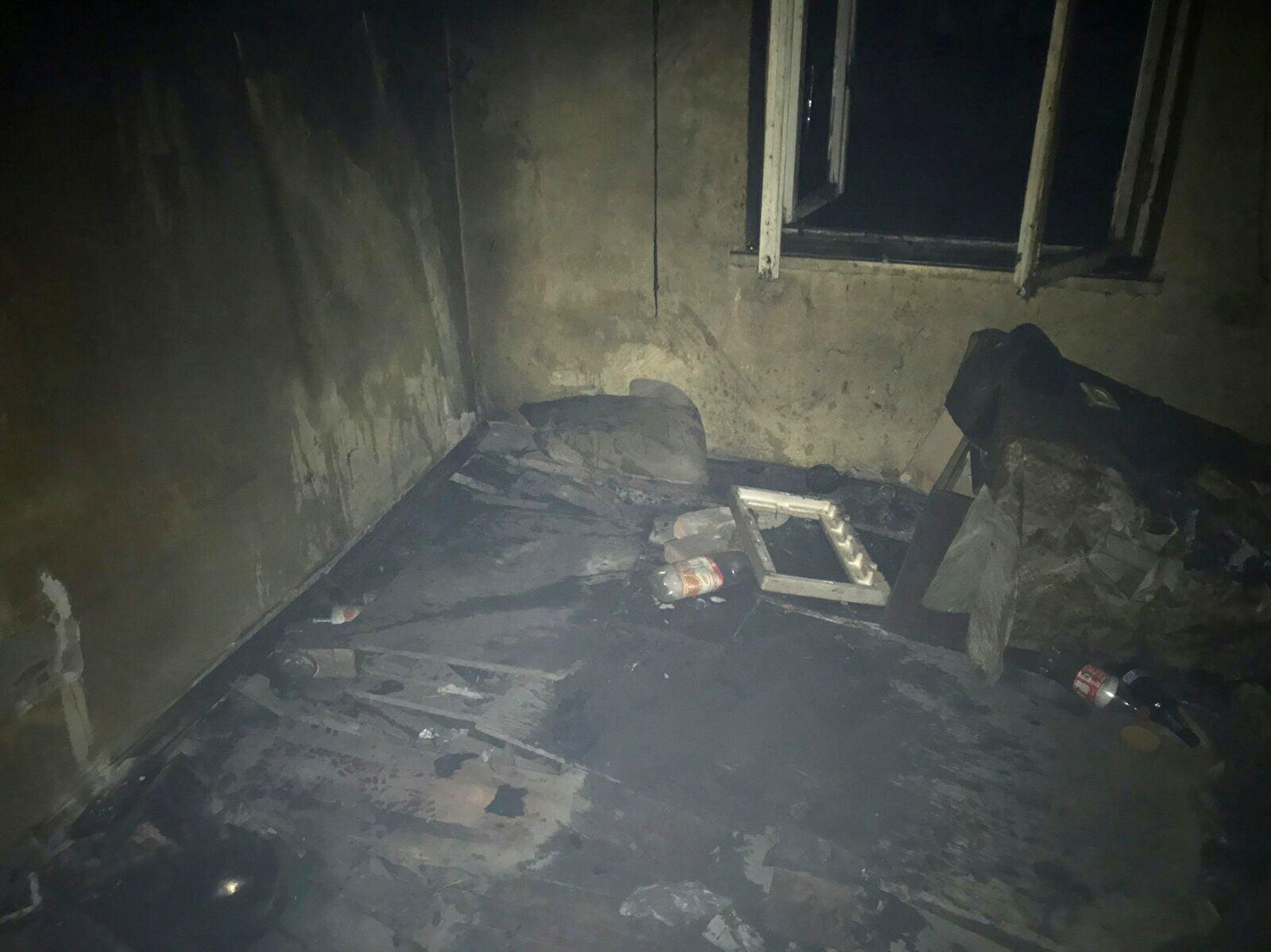 Куріння могло стати причиною пожежі у будинку
