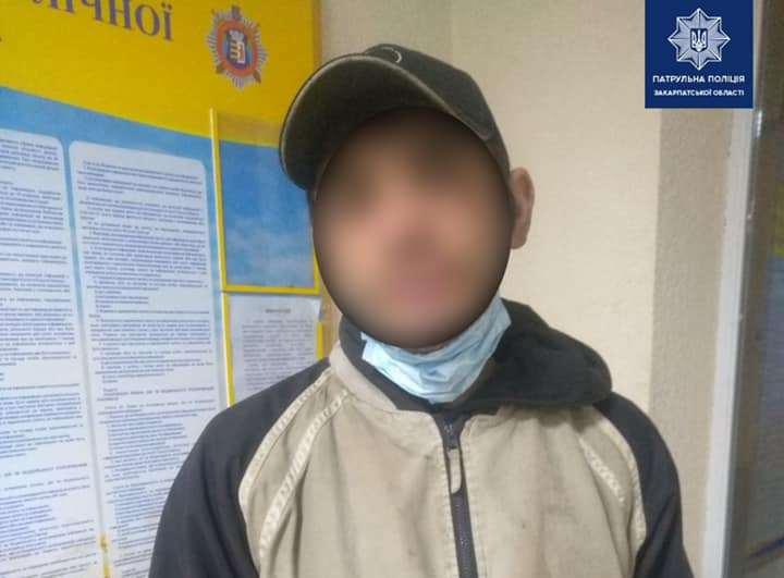 Патрульні виявили чоловіка, який уникав кримінальної відповідальності