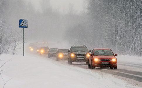 Синоптики прогнозують значний сніг на Закарпатті. Оголошено штормове попередження