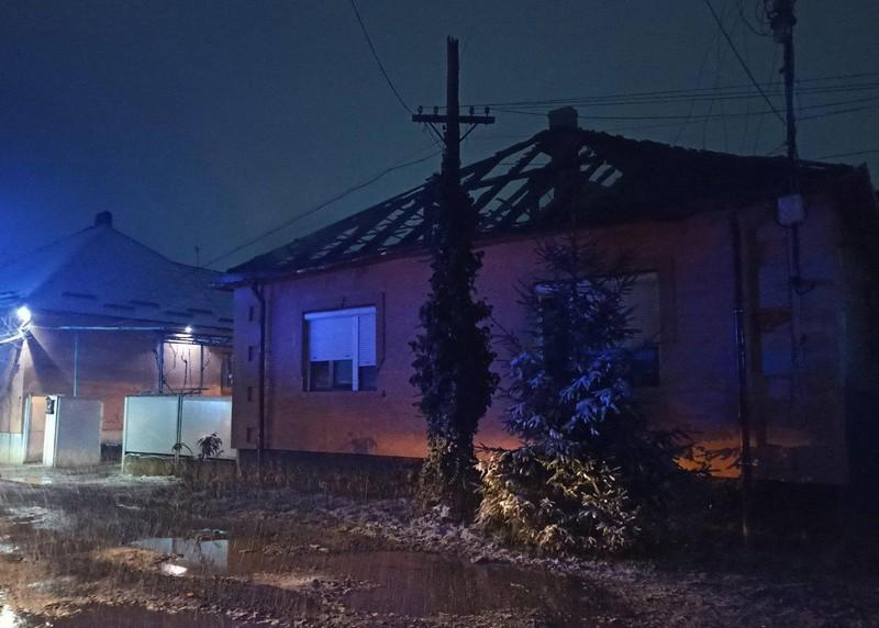 Сьогодні у Мукачеві палав будинок