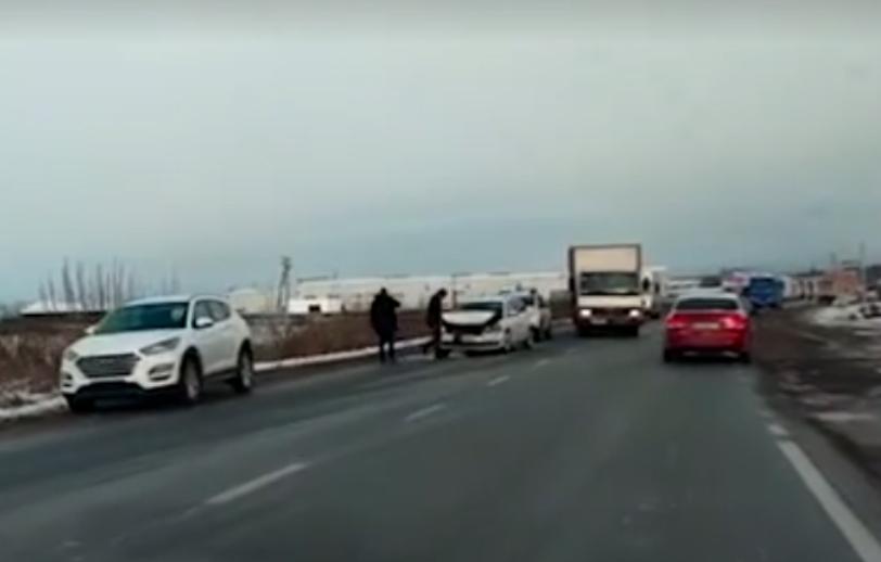 Аварія у Мукачеві: відео з місця події