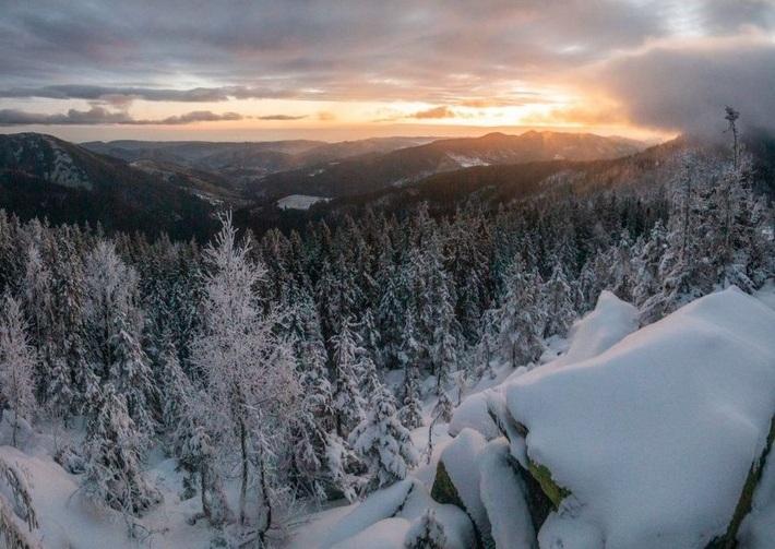 16 градусів морозу: на якій із гірських вершин найхолодніше і найбільше снігу