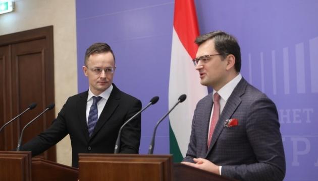 """Україна та Угорщина працюють над """"джентльменською угодою"""" щодо спірних питань"""