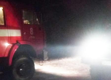Під час пожежі в багатоквартирному будинку постраждав чоловік
