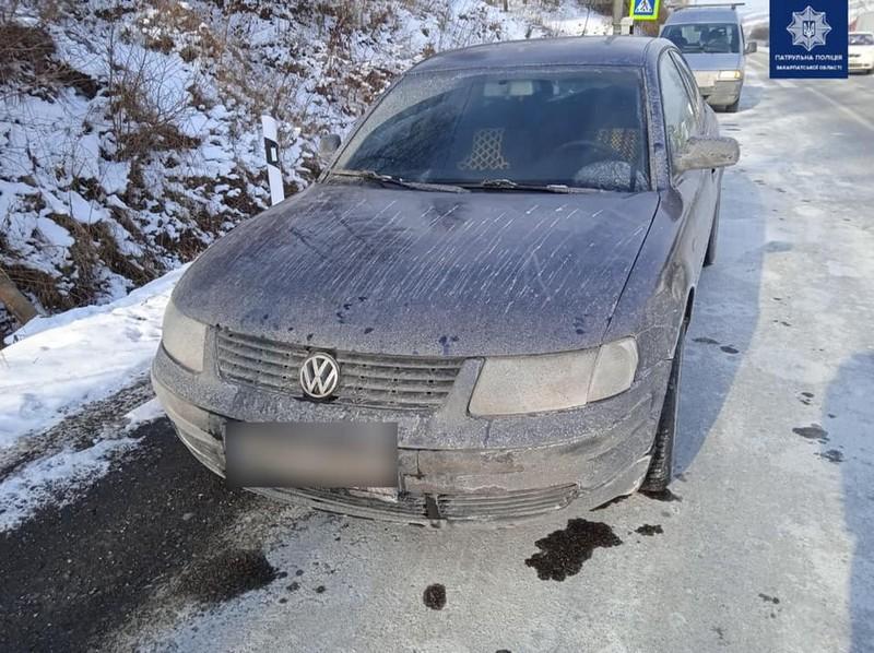 Патрульні виявили ознаки підробки документів у водія