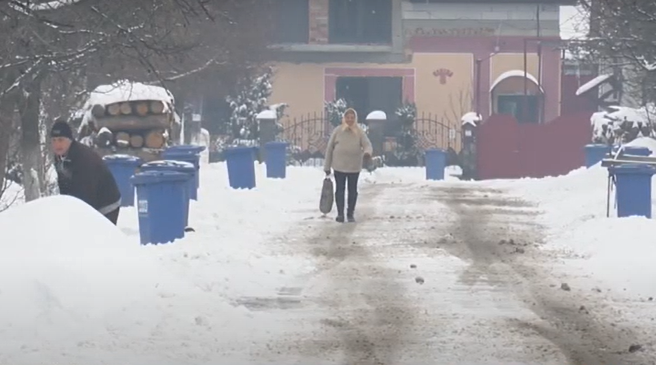 У якому стані дороги в Мукачівській ОТГ після снігопаду