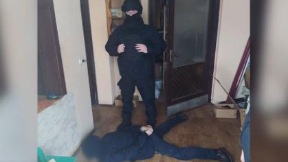 Спецоперація на Закарпатті: оприлюднено відео затримання підозрюваного