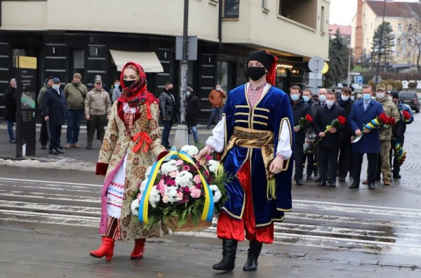 В Ужгороді відзначили День Соборності України