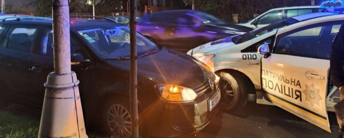 Ввечері сталася аварія: опубліковано фото з місця події