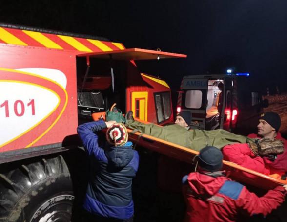 У горах травмувалась туристка. На допомогу викликали рятувальників