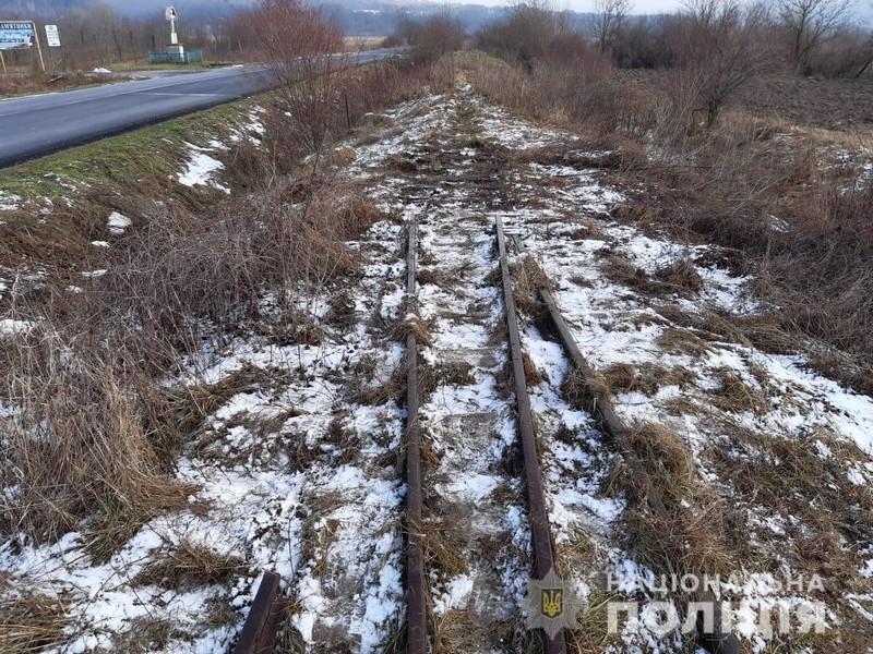 Демонтаж залізничної колії Боржавської вузькоколійки: поліція проводить перевірку