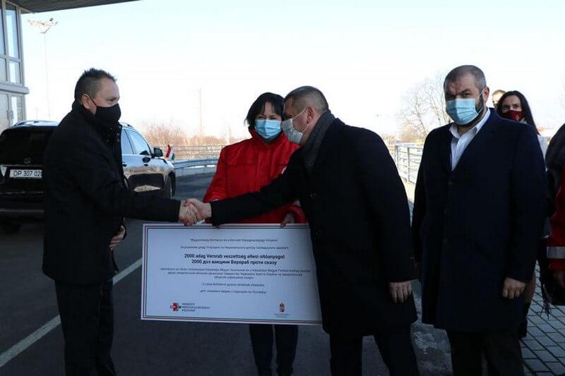 2000 доз вакцини від сказу отримало Закарпаття від Угорщини