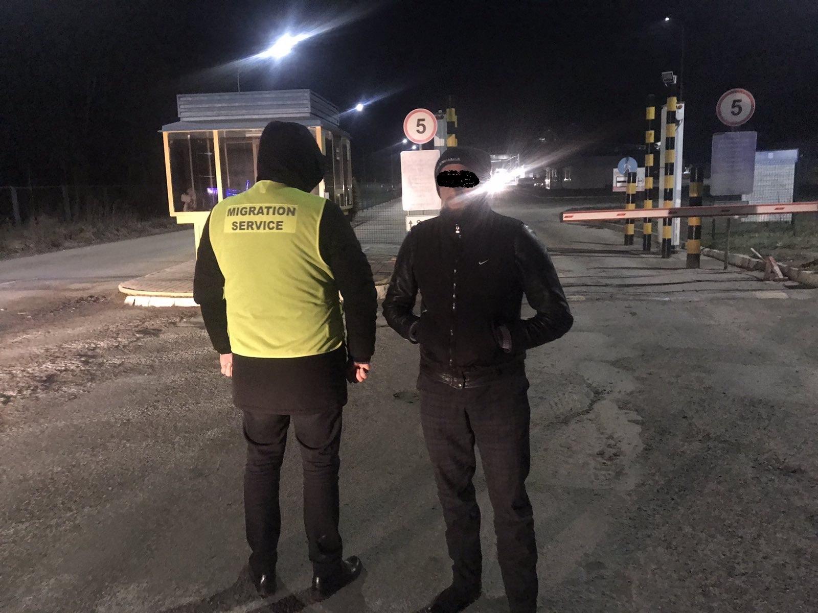 Затриманого в Ужгороді іноземця видворили з України