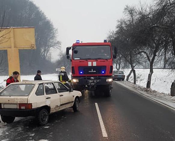 На Ужгородщині вранці трапилась ДТП
