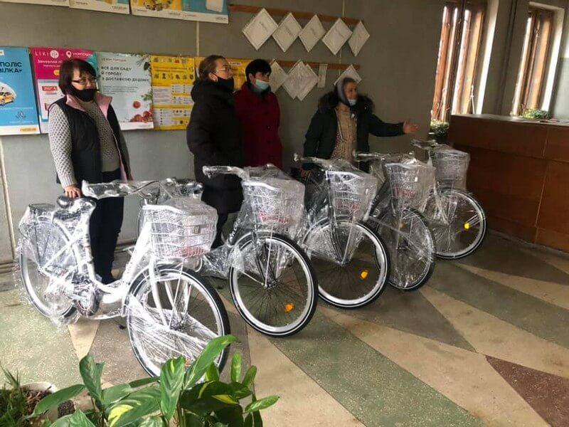 Велосипеди для листонош від СТОВ «Агро-Лучки»