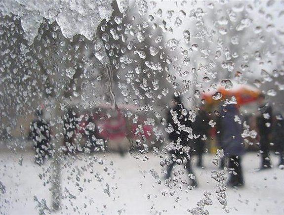 На Закарпаття суне негода із сильними дощами та мокрим снігом