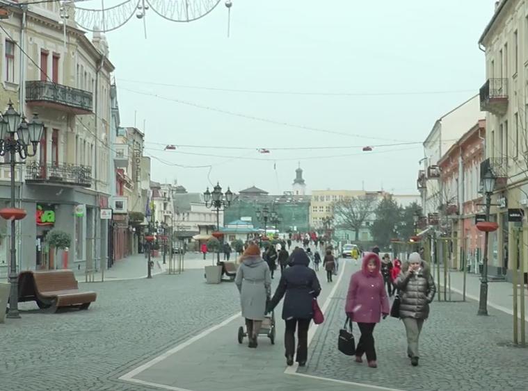 Журналісти розповіли, чи доступний Ужгород для людей з особливими потребами