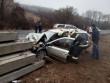 Тіло затиснуло понівеченим кузовом авто: опубліковано фото з місця смертельної аварії