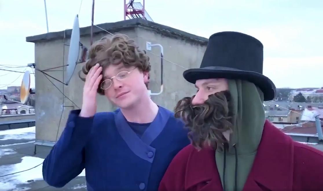 Закарпатський гуморист потішив святковим відео