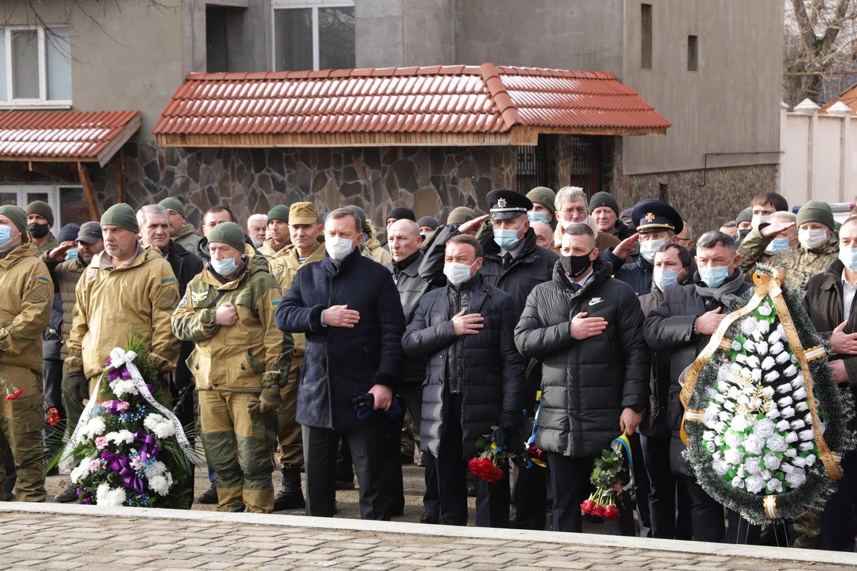 В Ужгороді вшанували учасників бойових дій на території інших держав
