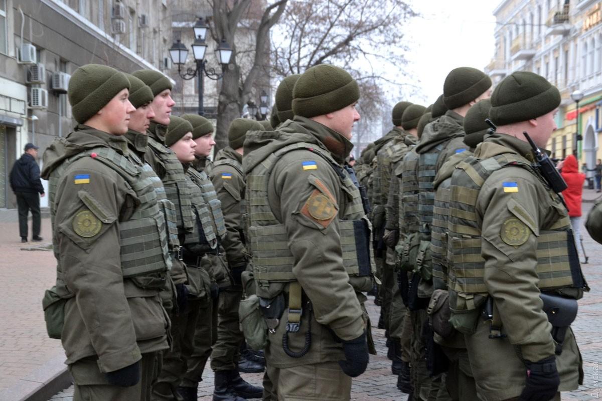 Нацгвардія розпочала патрулювання на вулицях Мукачева