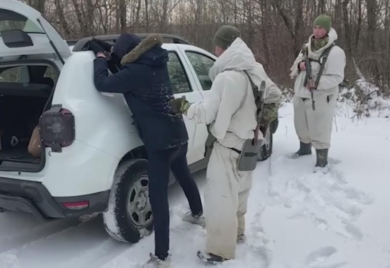 Поблизу одного з сіл Ужгородському району помітили нелегалів