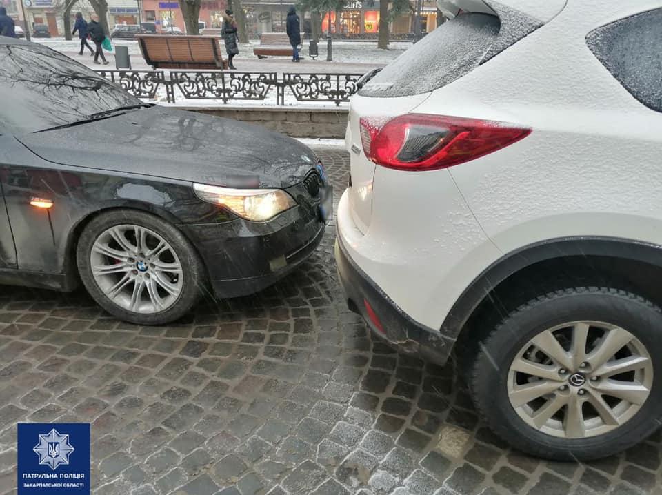 П'яний водій скоїв ДТП і пропонував патрульним хабаря