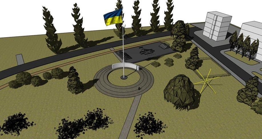 В Ужгороді до 30-річчя незалежності України планують встановити велетенський прапор