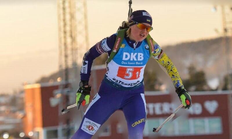 Закарпатка здобула бронзу на Чемпіонаті світу з біатлону