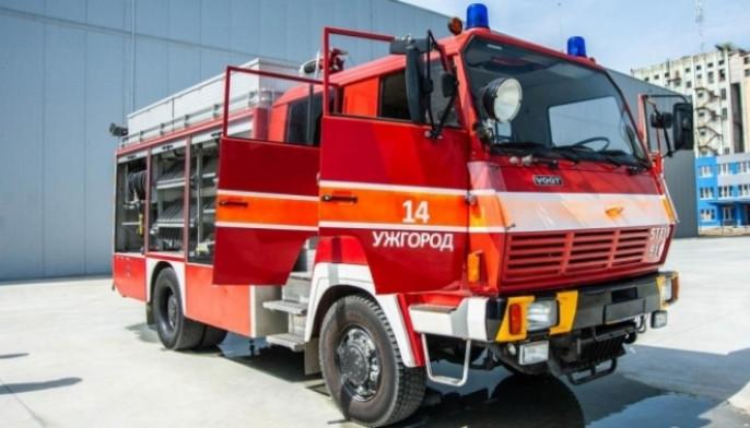 В Ужгороді у кафе трапилась пожежа