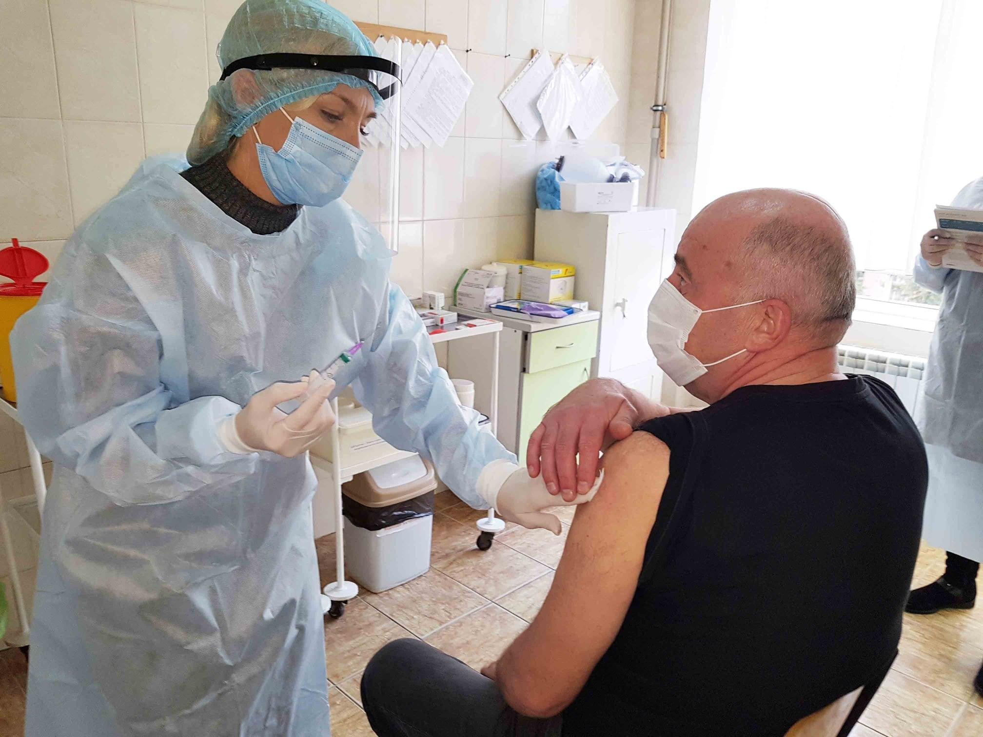 У Мукачеві стартує вакцинація проти COVID-19