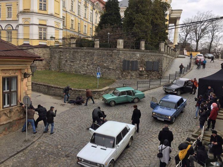 В Ужгороді знімають кіно