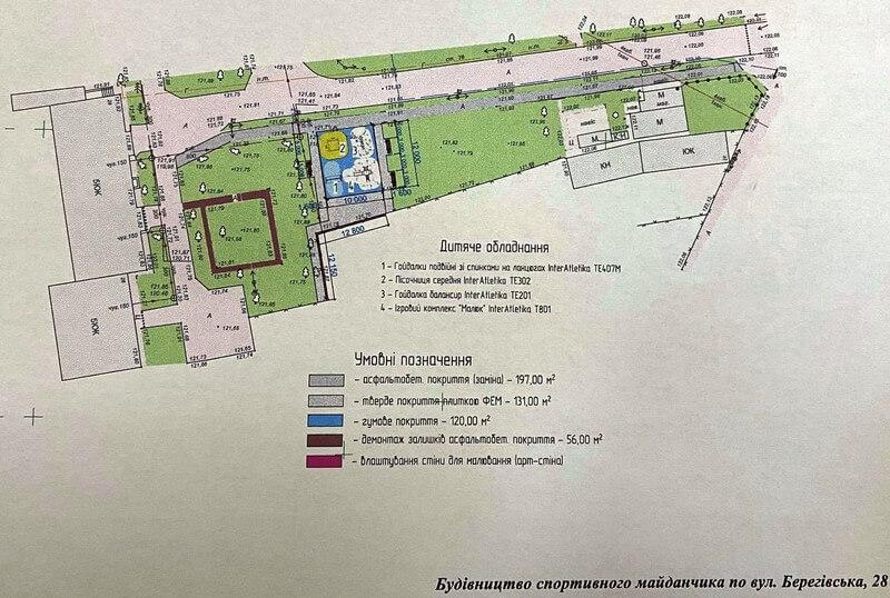На одній із вулиць Мукачева облаштують дитячий майданчик: адреса