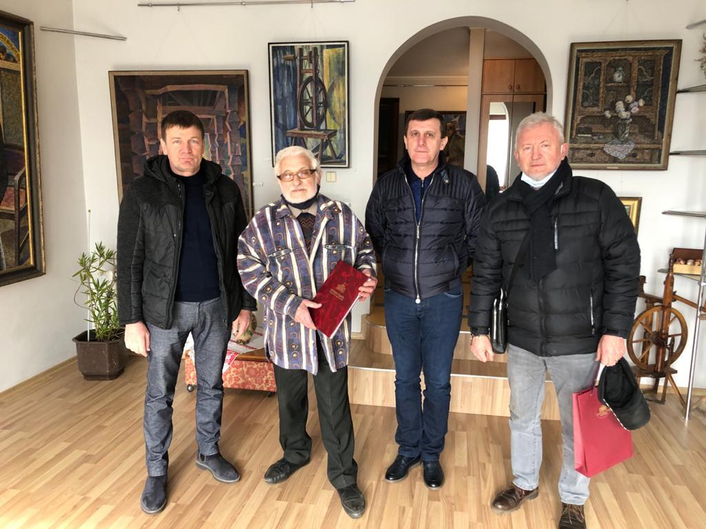 Народному художнику Володимиру Микиті вручили грамоту Верховної Ради України