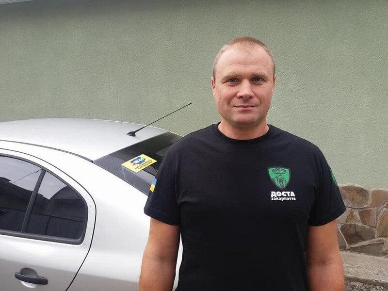Закарпатського активіста Павла Павлова оголосили у розшук